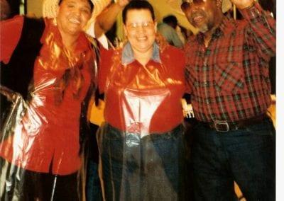 Paula, Roslyn & John