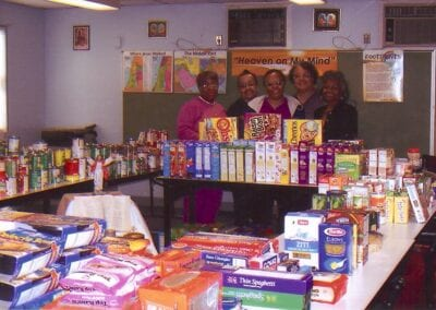 Pope's Food Drive 2008 - 1