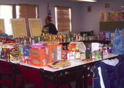 Pope's Food Drive 2008 - 2