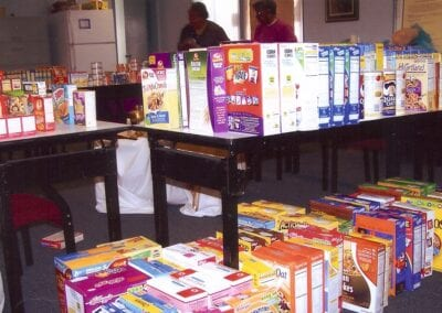 Pope's Food Drive 2008 - 3