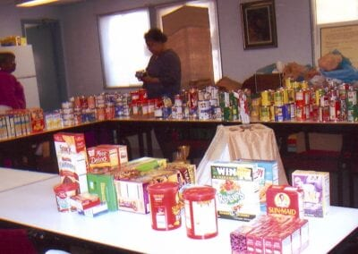Pope's Food Drive 2008 - 4