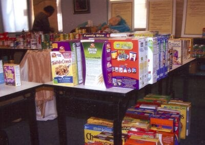 Pope's Food Drive 2008 - 5
