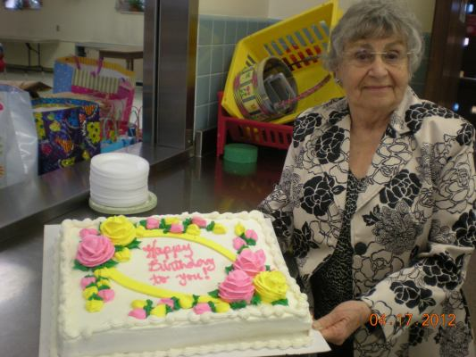 St. Hugh's Birthday Party at Nursing Home