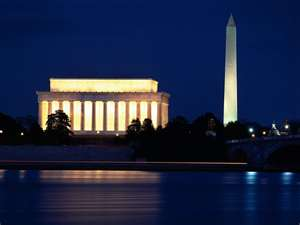 Lincoln Memorial & Washington Monument
