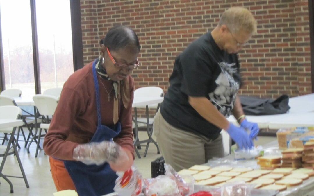 OLPH Feeding The Homeless