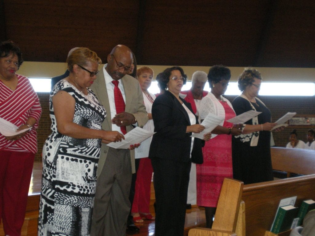 Induction of New Members at OLPH – 2014