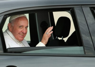 Pope Francis Arrives From Cuba For Visit To D.C., New York, And Philadelphia