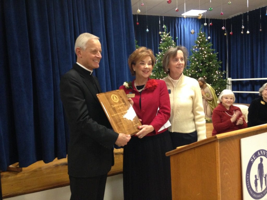 ADW Ladies of Charity Receives Service Award