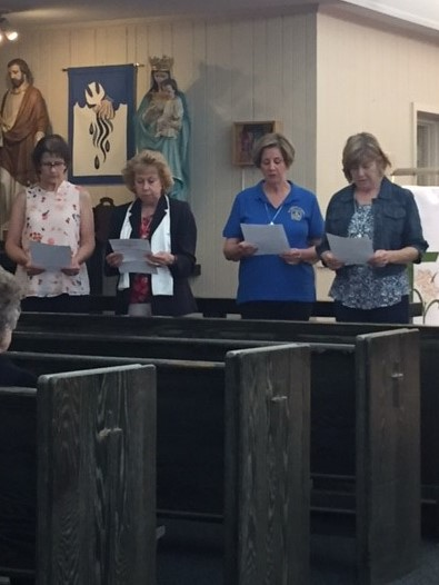 St. Anthony of Padua Installs New Officers 2017